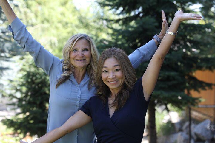 Jill Klinke & Miki Peck,  in Spokane, Windermere
